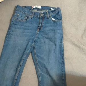 Medium wash Levi denim jeans